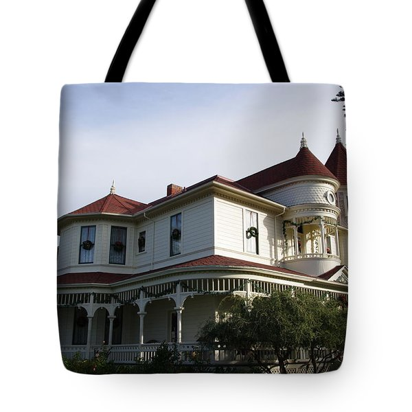 Grand Victorian Mansion  Tote Bag