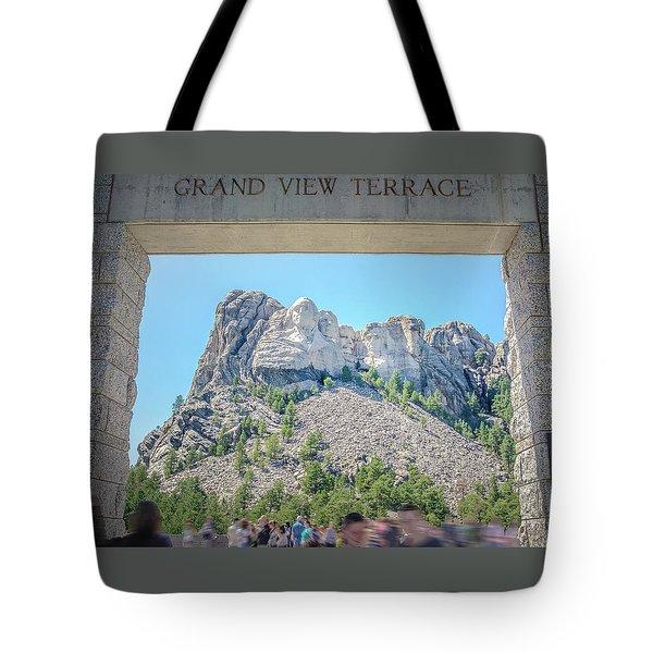 Grand View Tote Bag by Mark Dunton