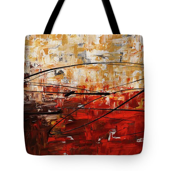 Tote Bag featuring the painting Grand Vision by Carmen Guedez