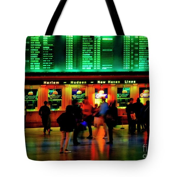Tote Bag featuring the photograph Grand Central Station Nyc by Tom Jelen