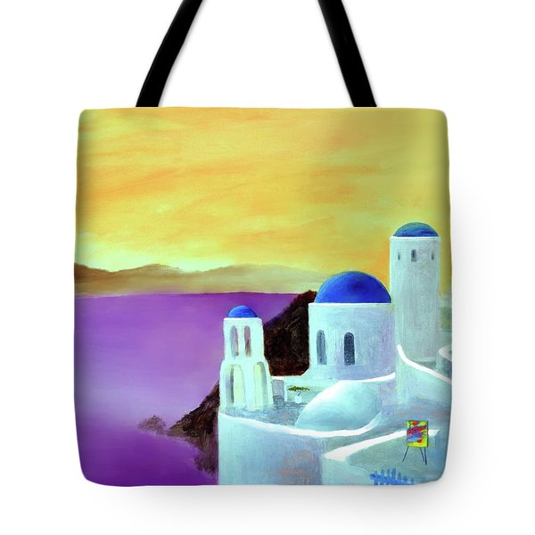 Grandeur Of Greece Tote Bag