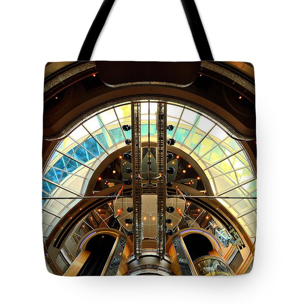 Grandeur Of The Seas Gold Centrum Tote Bag