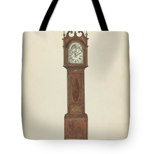Grandfather Clock Tote Bag