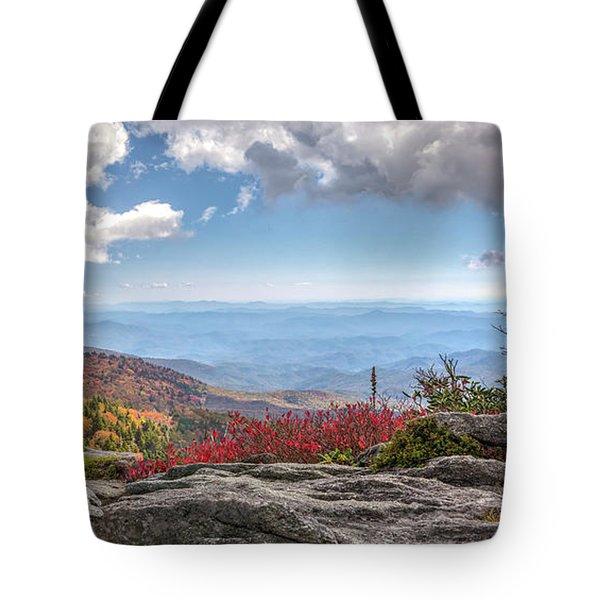 Grandfather Mountain Panorama 02 Tote Bag
