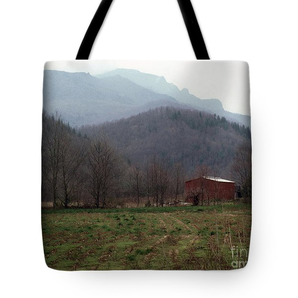 Grandfather Mountain Tote Bag