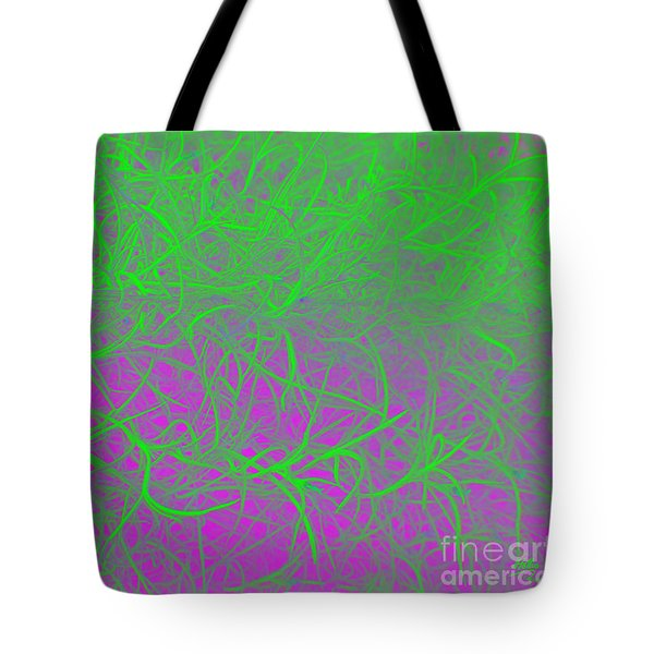 Tote Bag featuring the photograph Grandfather's Beard - Punked by Linda Hollis