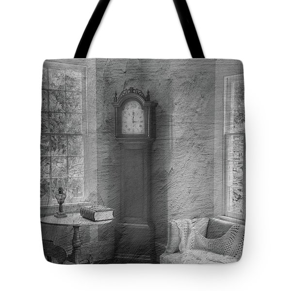 Grandfather's Clock Tote Bag