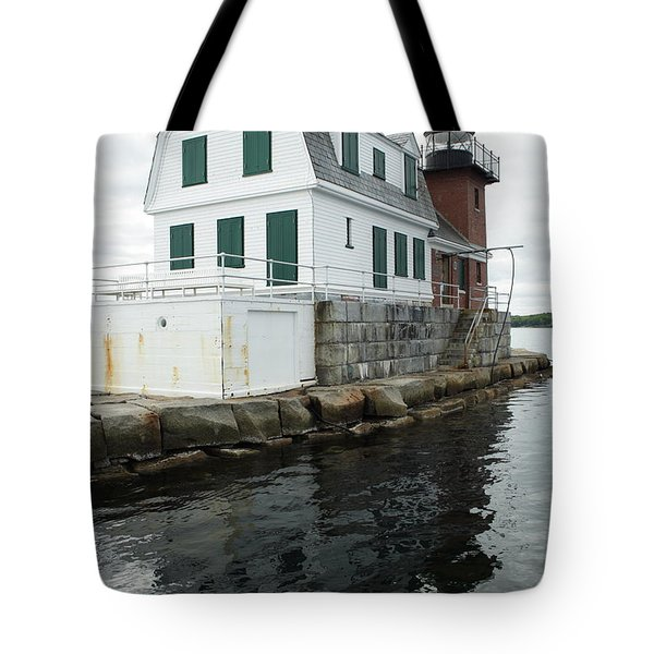Grandfathers Lighthouse Tote Bag
