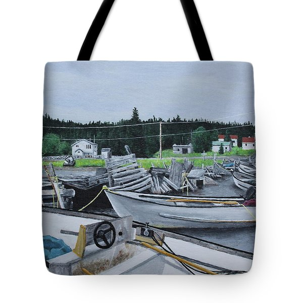Grandfathers Wharf Tote Bag