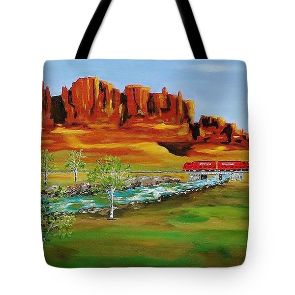 Grandiose West  Tote Bag by Mike Caitham