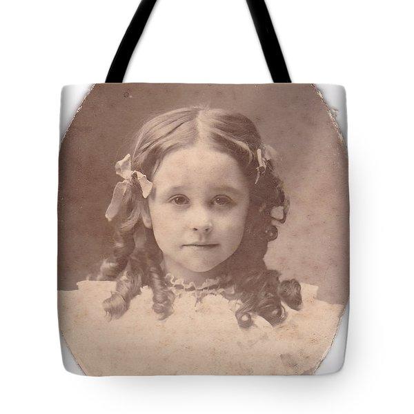Grandma As A Young Girl Tote Bag