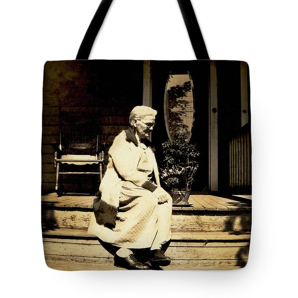 Tote Bag featuring the photograph Grandma Jennie by Paul W Faust - Impressions of Light
