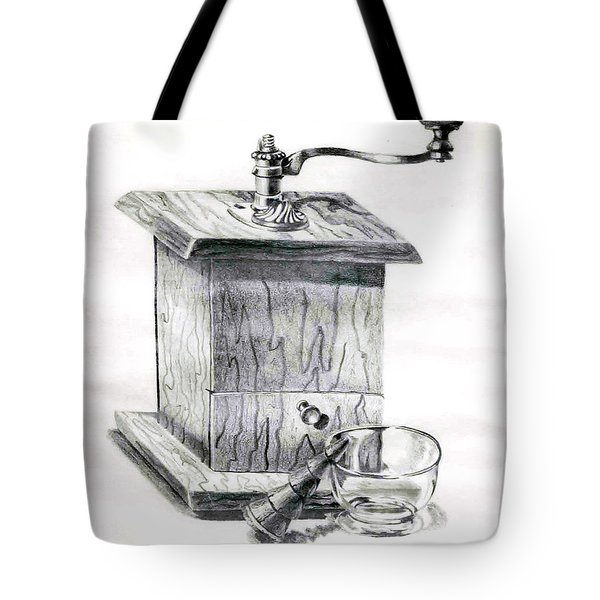 Grandma's Coffee Grinder Tote Bag