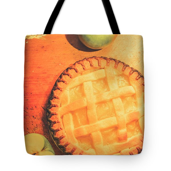 Grandmas Homemade Apple Tart Tote Bag