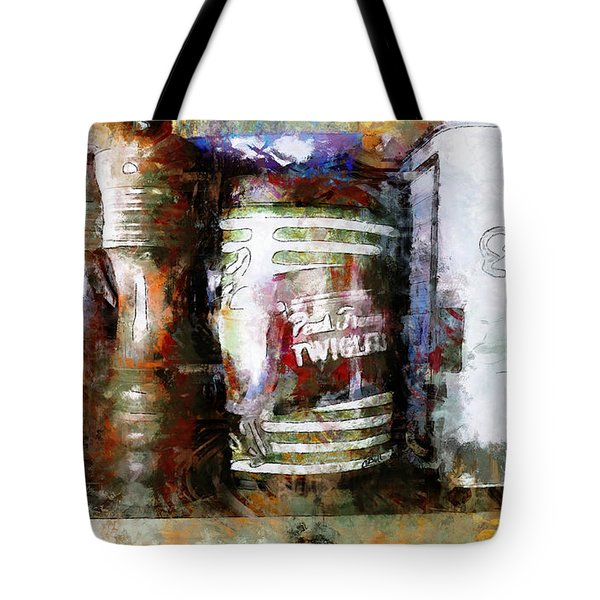 Grandma's Kitchen Tins Tote Bag