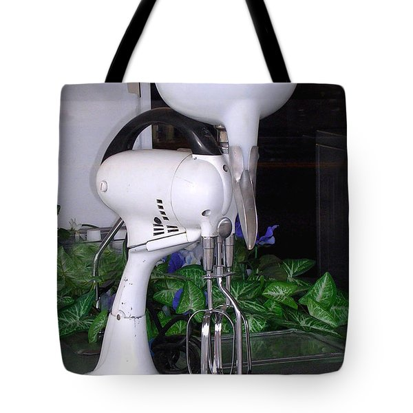 Tote Bag featuring the photograph Grandma's Old Mixer by Beauty For God
