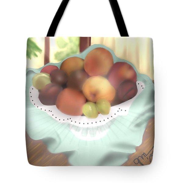 Grandma's Table Tote Bag