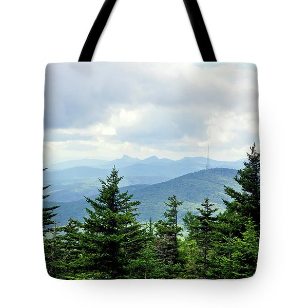 Grandmother Mountain Tote Bag by Meta Gatschenberger
