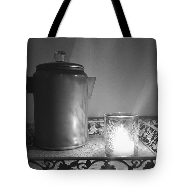 Grandmothers Vintage Coffee Pot Tote Bag