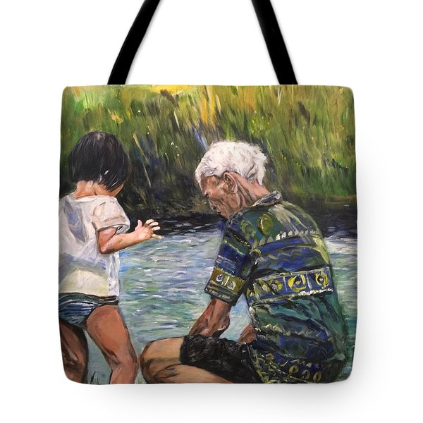 Grandpa And I Tote Bag