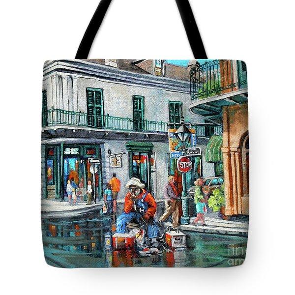 Grandpas Corner Tote Bag
