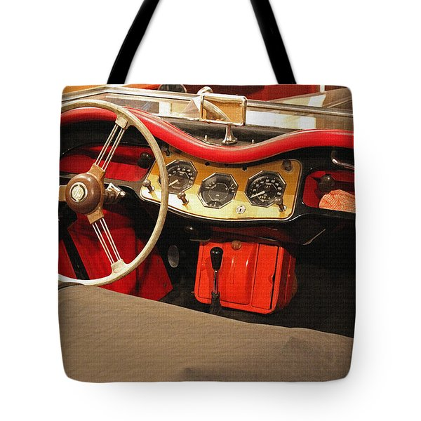 Grandpa's Garage Tote Bag