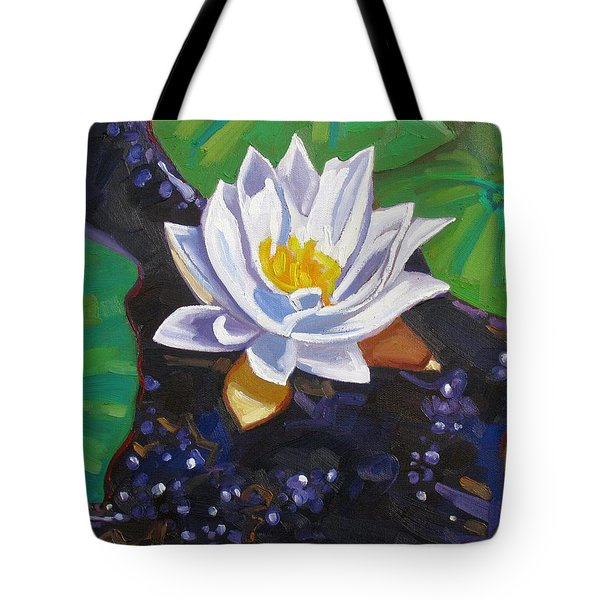 Grandpa's Lilies Tote Bag
