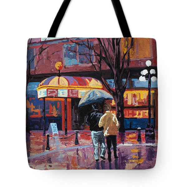 Grandville Couple Tote Bag