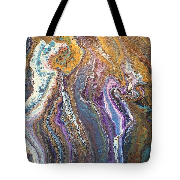 Granite Flow Tote Bag