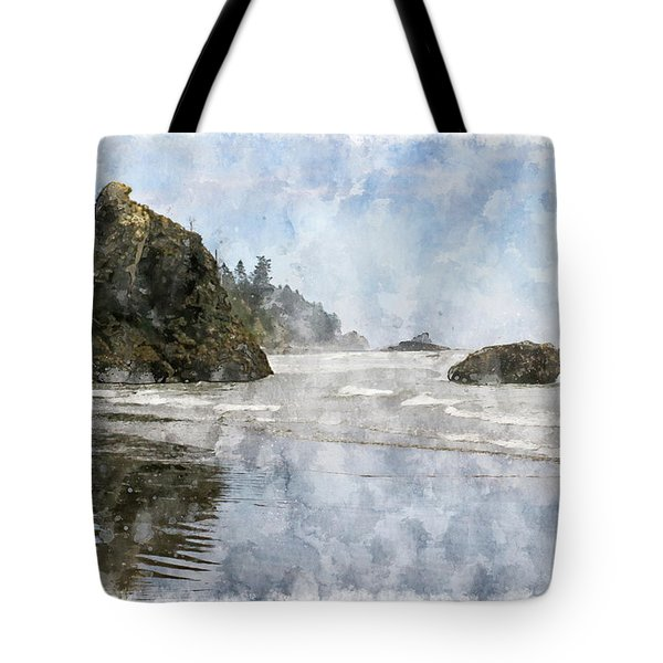 Granite Stacks Olympic Park Tote Bag by Peter J Sucy