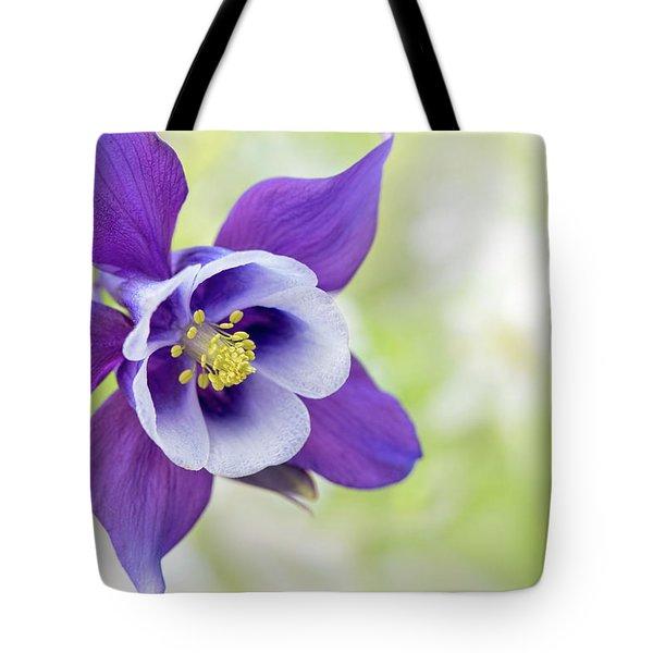 Granny's Bonnet Flower Tote Bag
