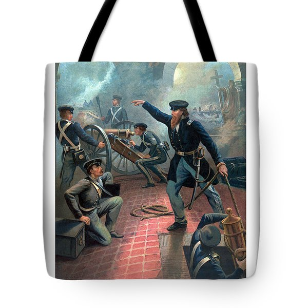 Grant At The Capture Of The City Of Mexico Tote Bag