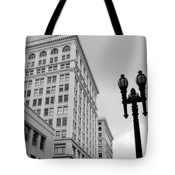 Grant Avenue Tote Bag by Mark Barclay
