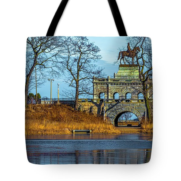 Grant Memorial Lincoln Park Dsc3218 Tote Bag