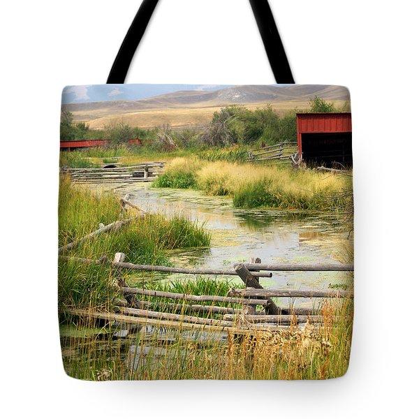Grants Khors Ranch Vertical Tote Bag by Marty Koch