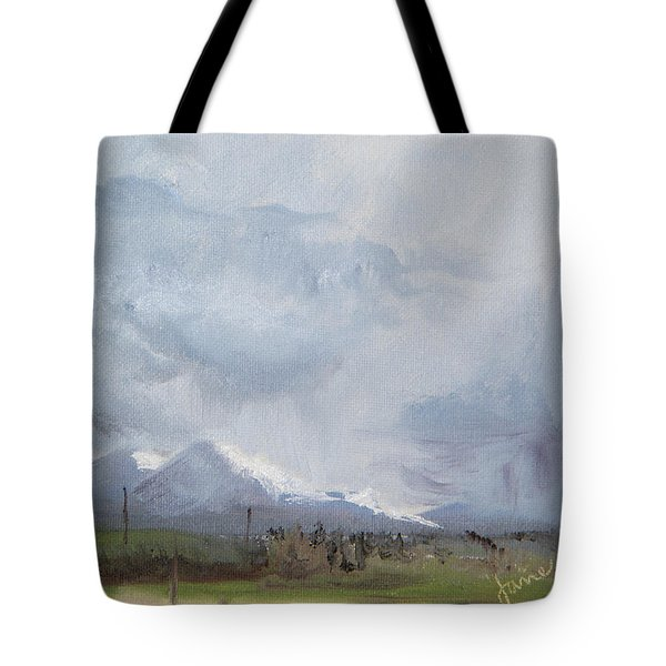 Grantsville Skies Tote Bag