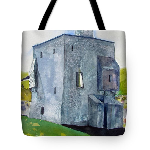 Granuaile's Castle Behind The Hill Tote Bag