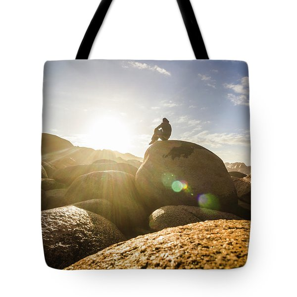 Granville Harbour Reflections Tote Bag