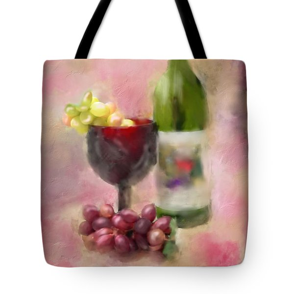 Tote Bag featuring the photograph Grape Essence by Mary Timman