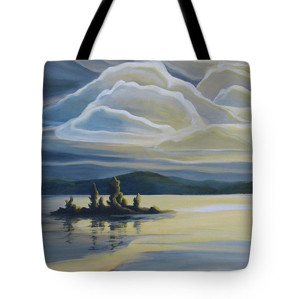 Grape Island Tote Bag