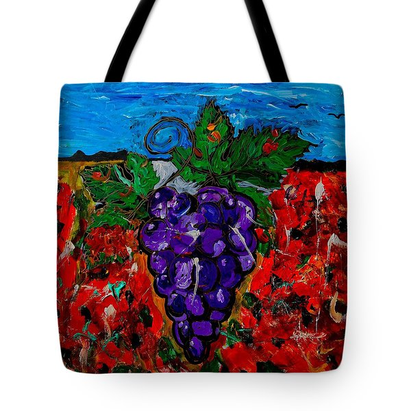 Grape Jazz Tote Bag