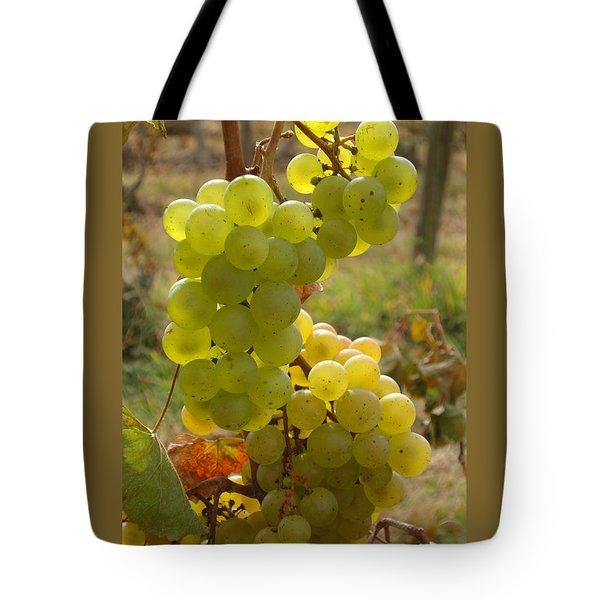 Grape Spiral Tote Bag