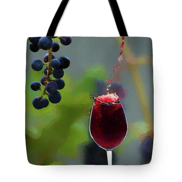 Grape To Glass For You Tote Bag