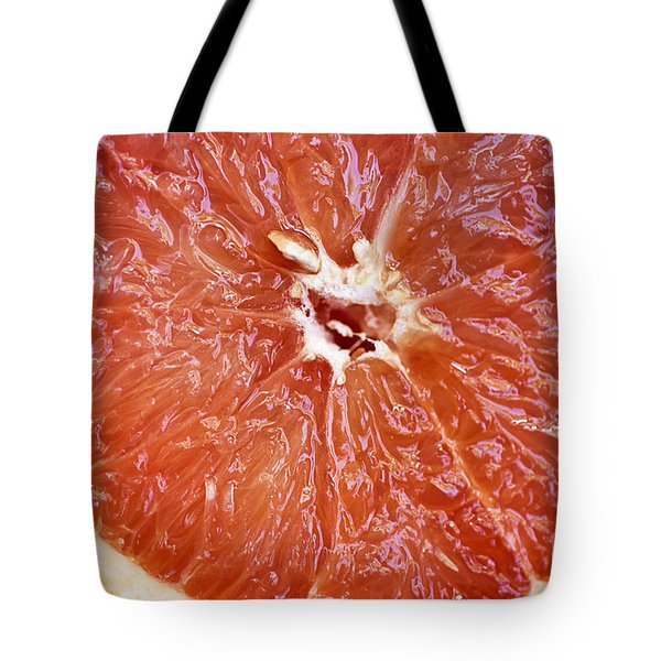Grapefruit Half Tote Bag by Ray Laskowitz - Printscapes