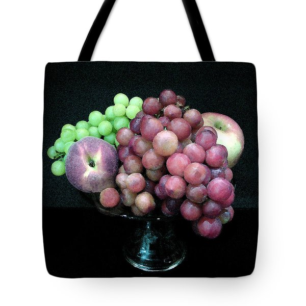 Grapes And Fruit Tote Bag by Sandi OReilly