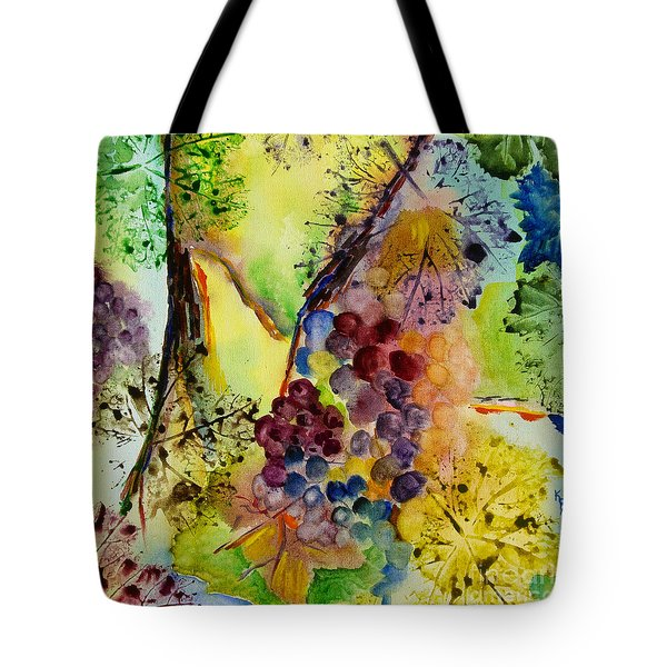 Grapes And Leaves IIi Tote Bag