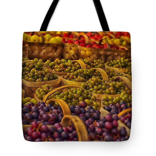 Grapes Galore Tote Bag