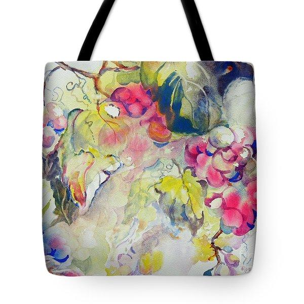 Grapes In Season Tote Bag