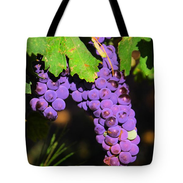 Grapes In The Sun Tote Bag