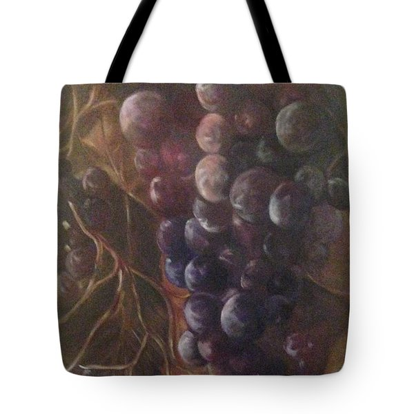 Grapes On A Vine Ca. Tote Bag